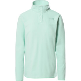 The North Face TKA Glacier Pullover mit Druckknopfleiste Damen misty jade